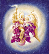 Archangel Zadkiel and and Holy Amethyst